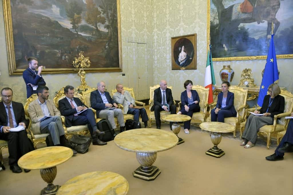 Le ONG italiane incontrano Laura Boldrini