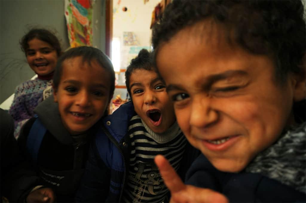 Gli occhi dei bambini di Gaza