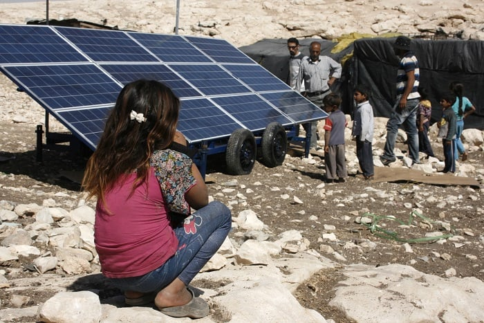 Israeli forces seize solar panels, injure child in village raid