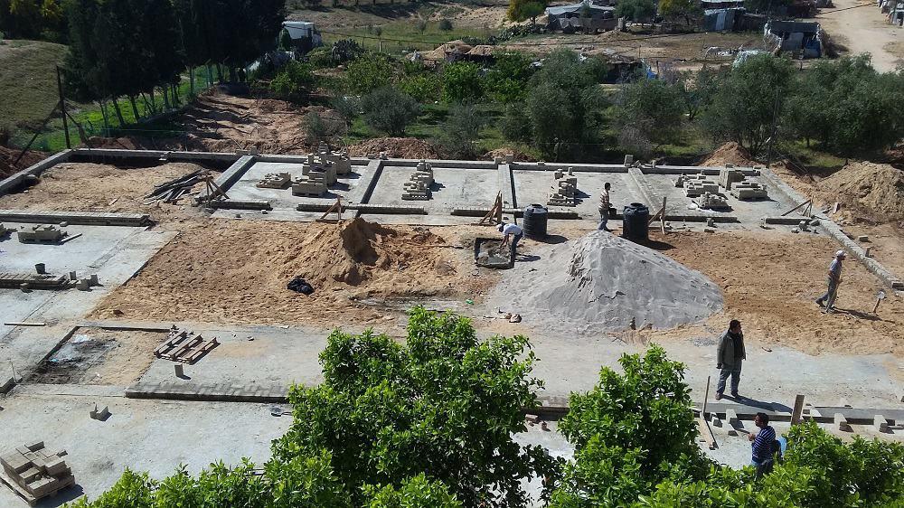 La Terra dei Bambini inizia a prendere forma: le foto aggiornate della ricostruzione