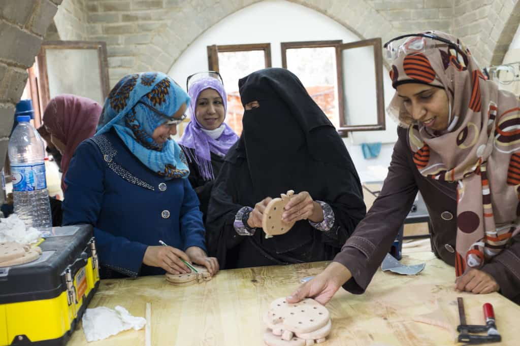 visions turning into reality: the Zeina Women Center