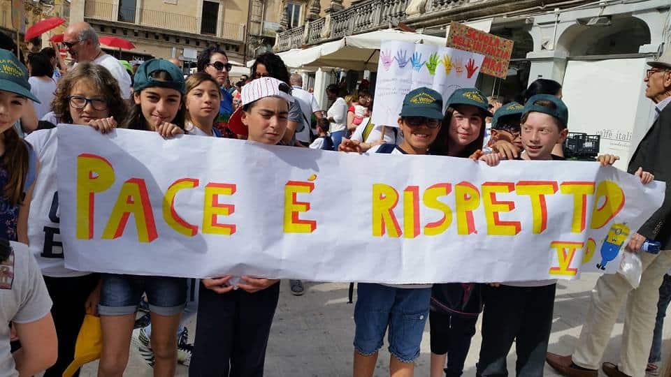 Vento di Terra alla Marcia per la Pace a Ragusa