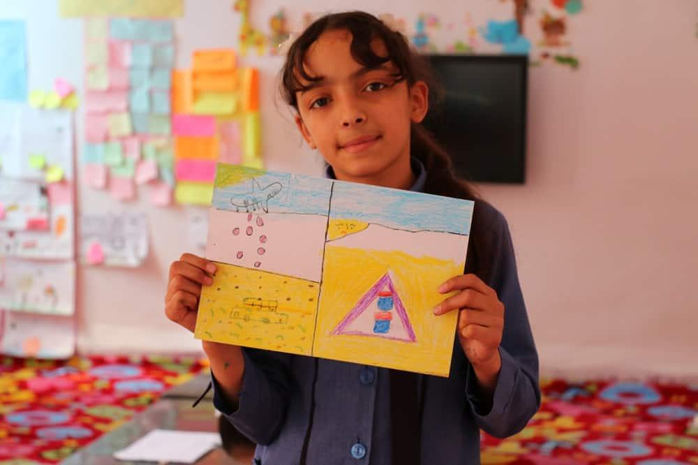 Il giornalino della scuola di Mafraq