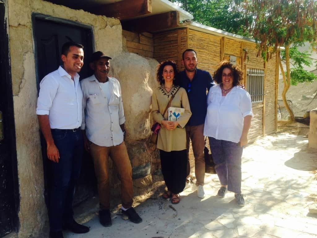 Delegazione di Parlamentari 5 Stelle in visita ai progetti di Vento di Terra
