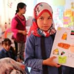 La scuola di Mafrak per i bimbi siriani