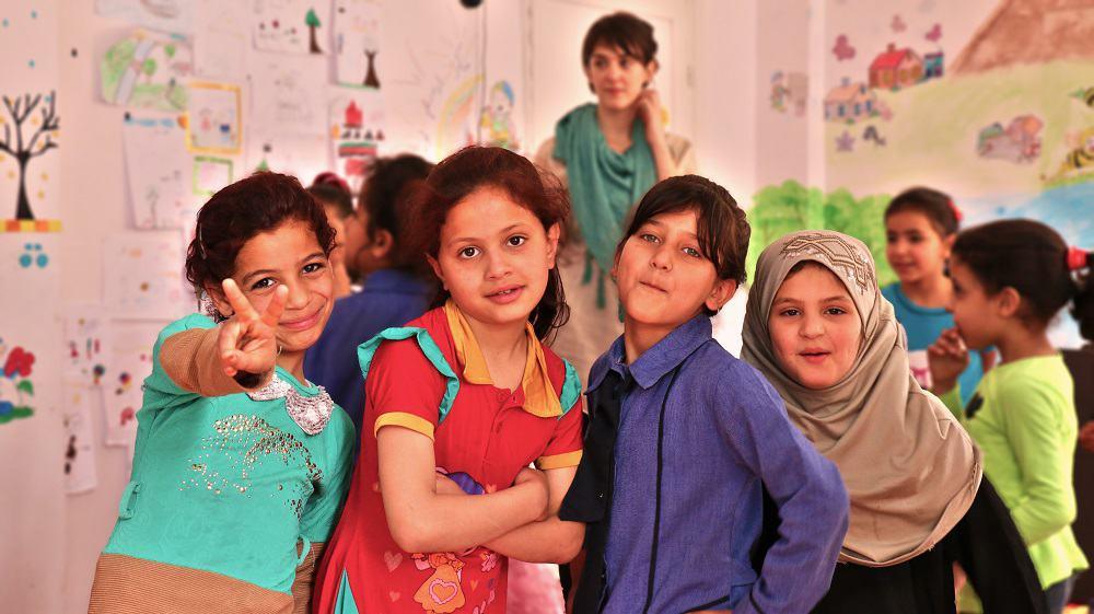 Diritti al Centro: supporto scolastico ai bambini profughi siriani