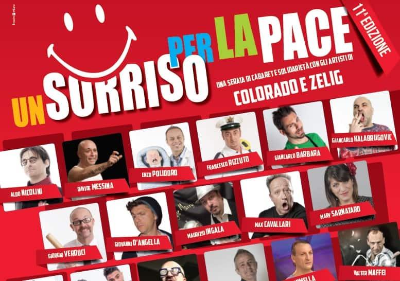 8 APRILE: comici e solidarietà al Teatro Fellini di Rozzano