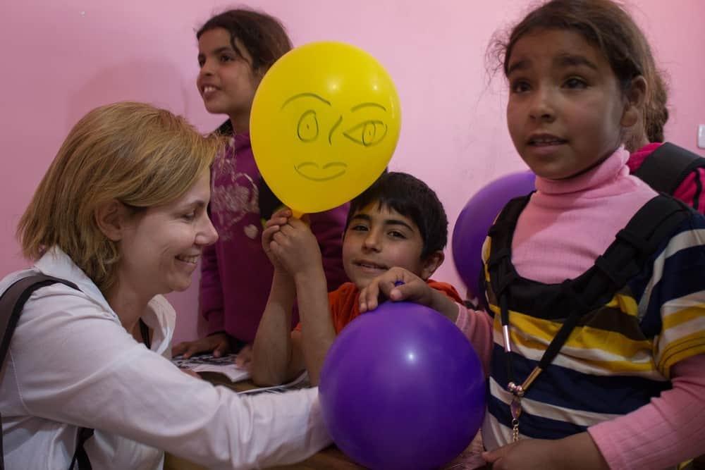 Un'esperienza toccante e intensa tra le famiglie profughe siriane