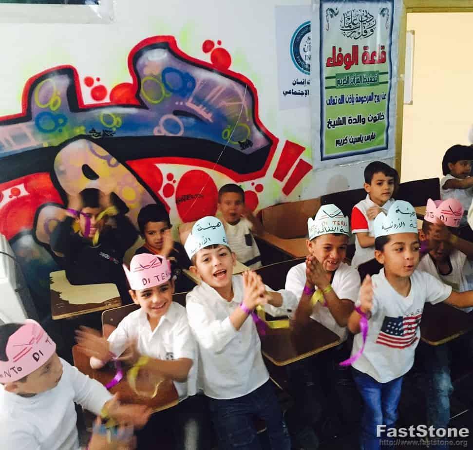 Festa per tutti a Mafraq!