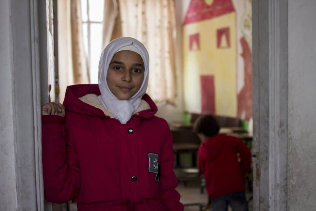 Nella scuola di Mafraq, Rawan ha imparato a leggere