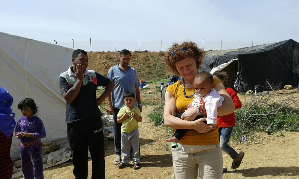The 'solidarity travellers' visit Vento di Terra's projects