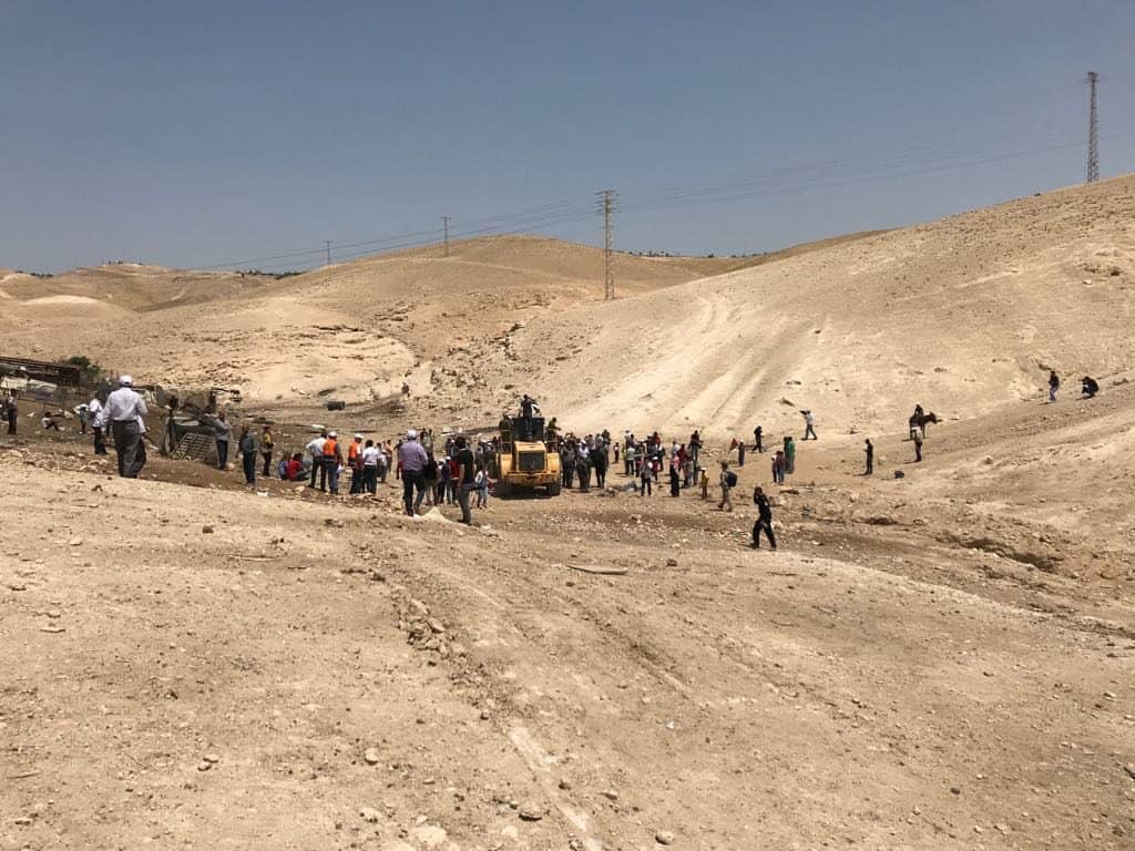 La Corte Suprema sospende la demolizione di Khan al Ahmar
