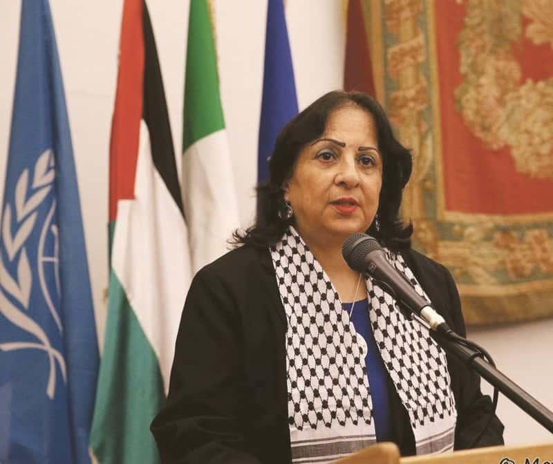 Dichiarazione dell'Ambasciatrice Mai Alkaila su Khan al Ahmar