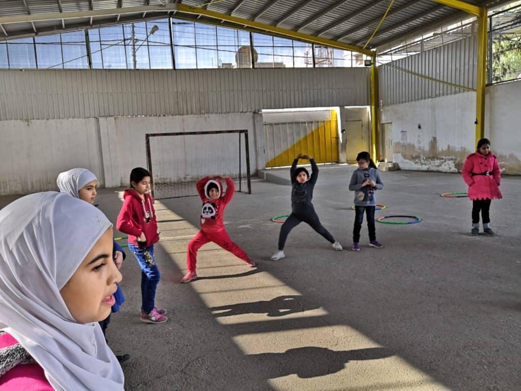Nuove attività per i bambini della scuola di Mafraq