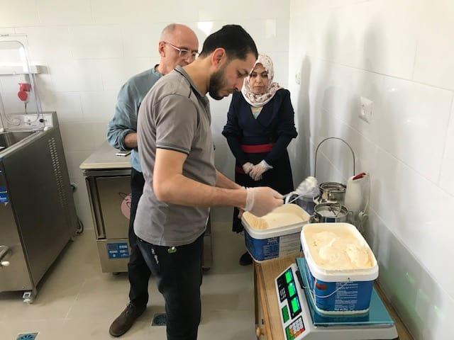 Il gelato solidale arriva a Gaza!