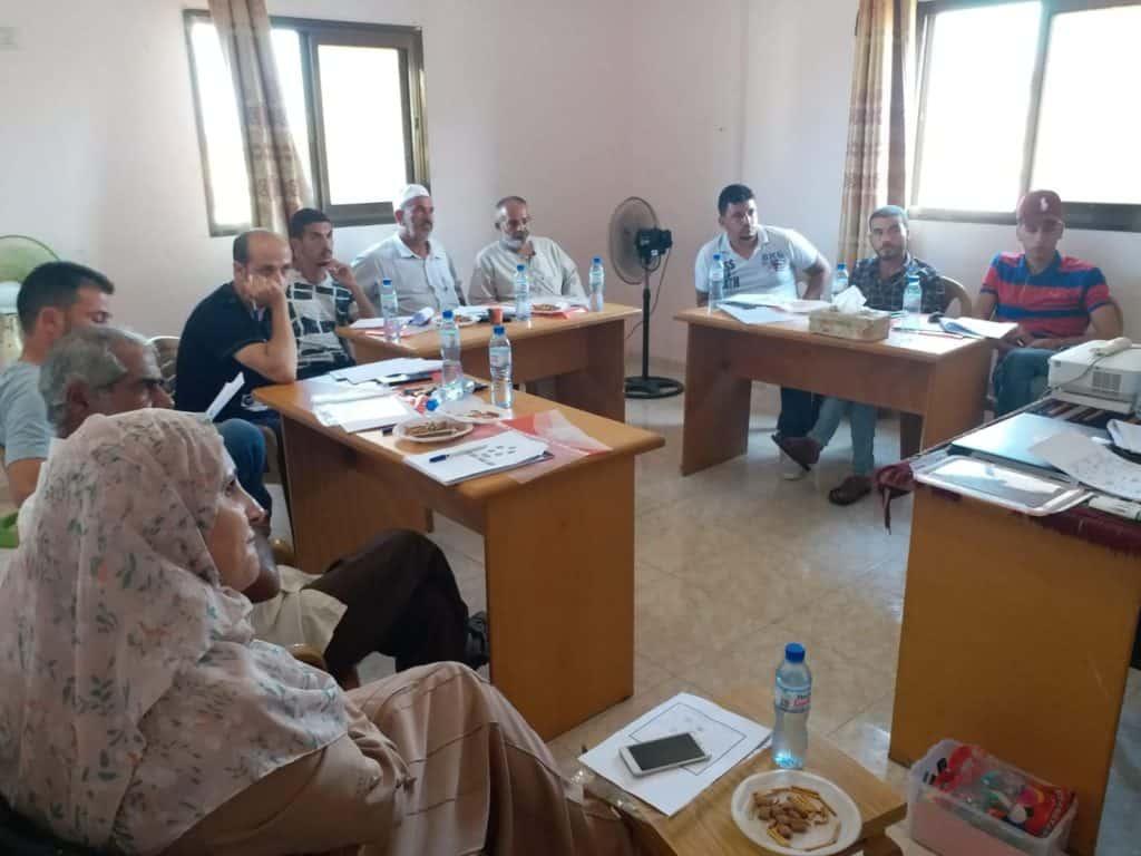 Capacity building per gli agricoltori di Gaza
