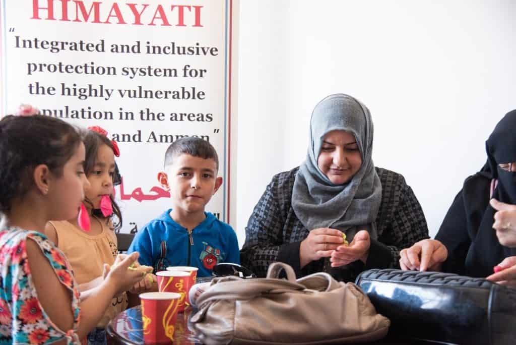 Assistenza per le donne siriane e giordane
