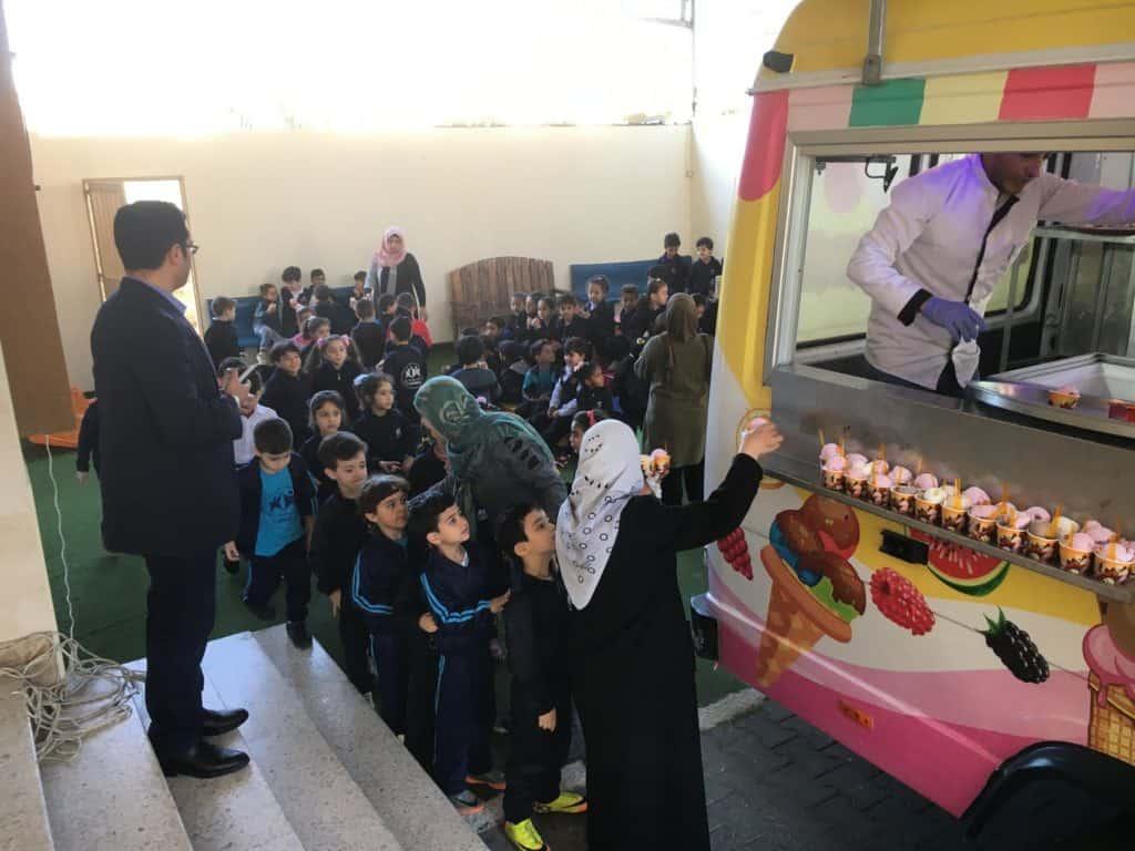 Un gelato in dono per i bambini orfani di Gaza