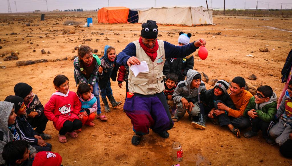Sguardi sul mondo: progetti umanitari per i profughi siriani in Giordania
