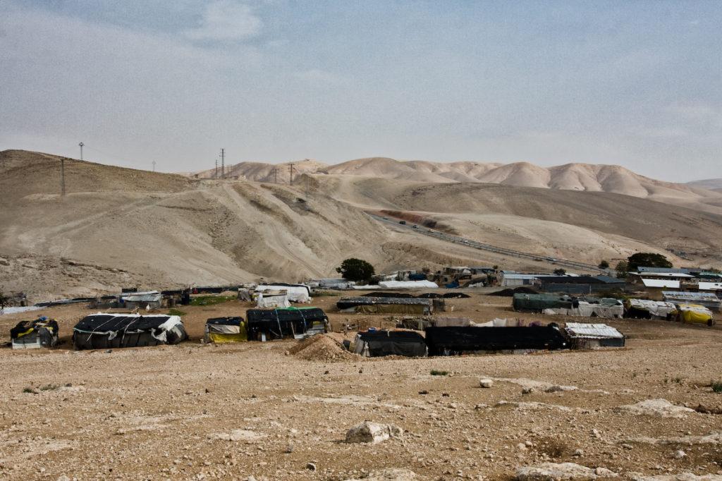 Una giornata di paura nel villaggio di Khan al Ahmar