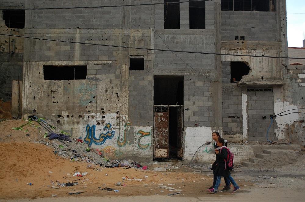 I giorni difficili di Gaza