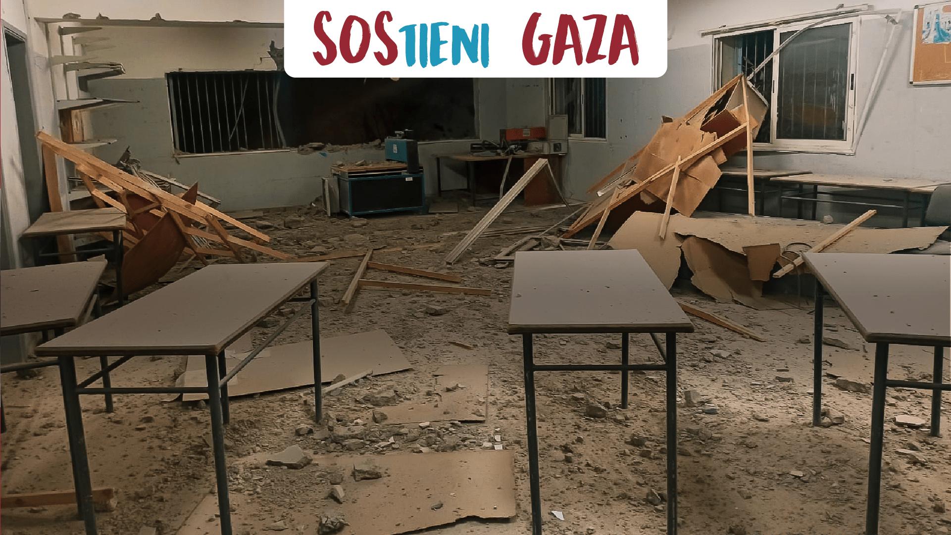 SOSTIENI GAZA